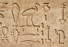 Hieroglyphics Fotos de Stock