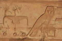 Hieroglyphics antichi Fotografie Stock Libere da Diritti