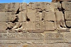 Hieroglyphics antiguos Imágenes de archivo libres de regalías