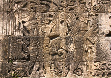 Hieroglyphics Chichen Itza Стоковое Изображение RF