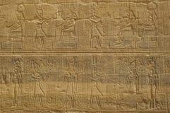 Hieroglyphics di Eygpt Fotografie Stock