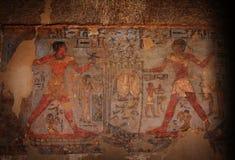 Hieroglyphics egípcios Fotos de Stock