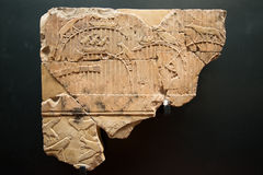 Hieroglyphics egípcios fotografia de stock royalty free