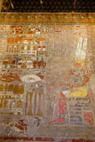 Hieroglyphics egiziani Fotografia Stock