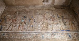 Hieroglyphics in Karnak Temple, Luxor, Egypt. Hieroglyphics in Karnak Temple, Luxor City, Egypt royalty free stock photo
