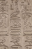 Hieroglyphics style of writing Royalty Free Stock Photos