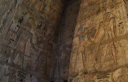 Hieroglyphs σε Luxor, Αίγυπτος Στοκ Φωτογραφίες