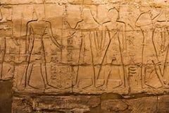 hieroglyphs της Αιγύπτου παλαιά Στοκ Εικόνες