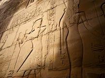 hieroglyphs Arkivbild
