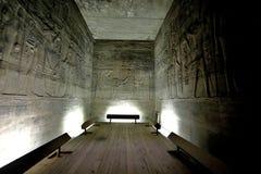 Hieroglyphs do console de Philae - Egipto Fotografia de Stock Royalty Free
