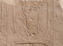 Hieroglyphs egípcios Imagens de Stock