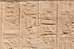 Hieroglyphs. Egypt Stock Photography