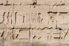 Hieroglyphs Royalty Free Stock Photography