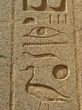 Hieroglyphs, Luxor Royalty Free Stock Image