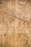 Hieroglyphs velhos de Egipto fotografia de stock royalty free