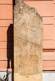 Hieroglyphs velhos de Egipto imagens de stock royalty free