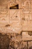 Hieroglyphs velhos de Egipto foto de stock