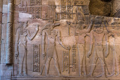 Hieroglyphs. Royalty Free Stock Photo