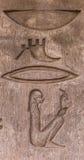 Hieroglyphs Stock Photos
