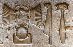 Hieroglyphs. Royalty Free Stock Image