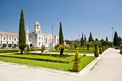 Hieronymites kloster Royaltyfria Bilder