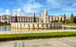 Hieronymites-Kloster, Lissabon, Portugal, Europa stockbild