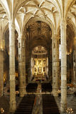 Hieronymites Monastery Interior, Lisbon (Portugal) Stock Photo