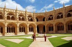 Hieronymites Monastery, Lisboa, Portugal Stock Images