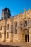 Hieronymites Monastery in Lisbon Stock Photography