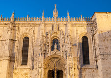 Hieronymites Monastery in Lisbon Stock Photos