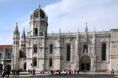 Hieronymites Monastery Lisbon Stock Image