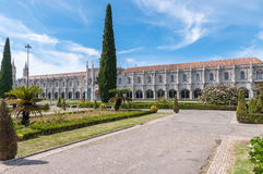 Hieronymites Monastery in Lisbon Stock Photo