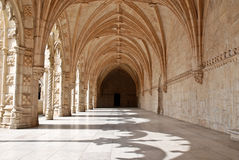 Hieronymites Monastery, Lisbon, Portugal. The Hieronymites Monastery (Mosteiro dos Jeronimos), located in the Belem district of Lisbon, Portugal. Typical Stock Images