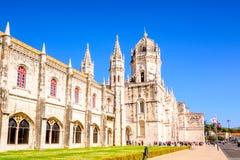 The Hieronymites Monastery in Lisbon Royalty Free Stock Photo