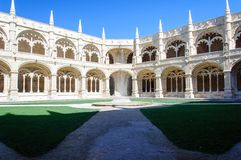 The Hieronymites Monastery in Lisbon, Portugal Stock Photography