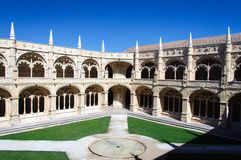The Hieronymites Monastery in Lisbon, Portugal Royalty Free Stock Photos