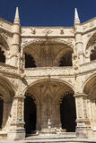 The Hieronymites Monastery (Mosteiro dos Jeronimos), located in Stock Images