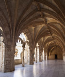 The Hieronymites Monastery (Mosteiro dos Jeronimos), located in Stock Photo