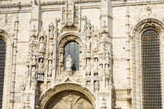 Hieronymites Monastery near the shore of the parish of Belém, in the municipality of Lisbon Royalty Free Stock Image