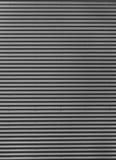 Hierro acanalado de los gris plateados Fotos de archivo libres de regalías