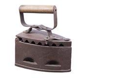 Hierro antiguo del hierro Foto de archivo libre de regalías
