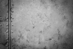 Hierro de acero viejo de la textura Foto de archivo