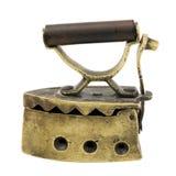 Hierro de carbón de leña miniatura de la vendimia Imágenes de archivo libres de regalías