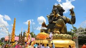 Hierro de pedazo de Ganesh grande Fotos de archivo libres de regalías