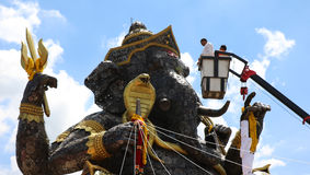 Hierro de pedazo de Ganesh grande Imagen de archivo