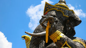 Hierro de pedazo de Ganesh grande Imagen de archivo libre de regalías
