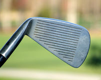 Hierro del golf foto de archivo