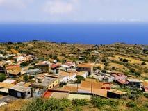Hierro. El Pinar - small villeage on Hierro, Canary Islands, Spain royalty free stock image