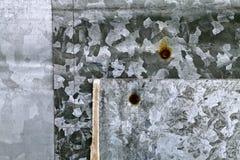 Hierro galvanizado Imagen de archivo libre de regalías