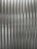 Hierro galvanizado acanalado brillante Fotografía de archivo